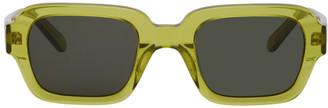 Han Kjobenhavn Green Code Sunglasses