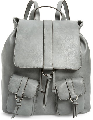 Sole Society Creda Faux Leather Backpack