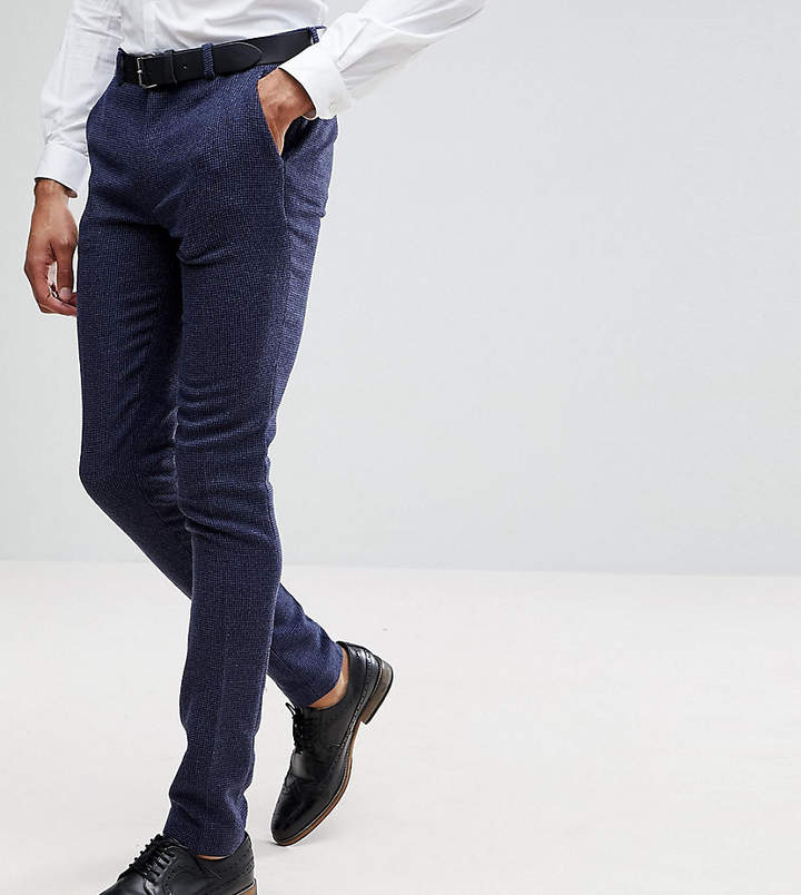 274e5721cb87 Skinny Suit Pants Check - ShopStyle