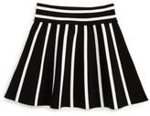 Milly Minis Girl's Stripe Knit Skirt