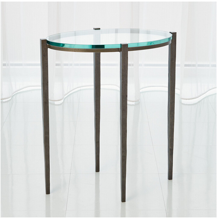 Global Views Petite Oval Accent Table