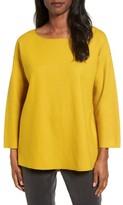 Eileen Fisher Women's Boiled Wool Jersey Top