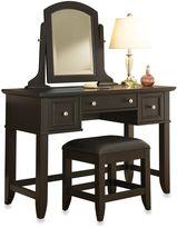 Home Styles Bedford Vanity Set in Black