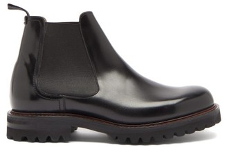 Church's Cornwood Lugged-sole Leather Chelsea Boots - Black