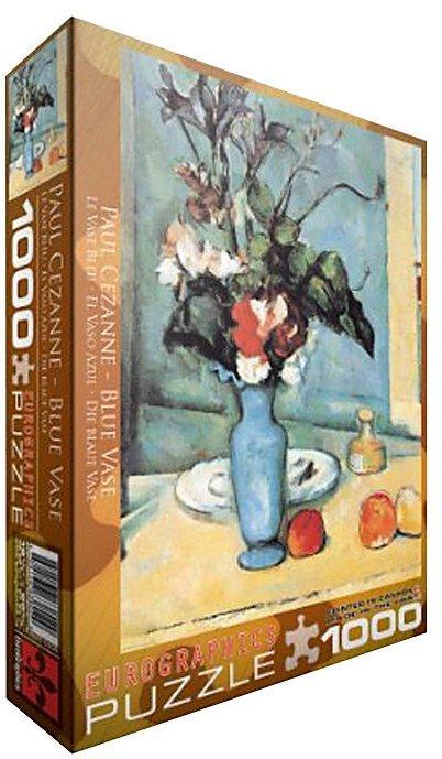 Cezanne EuroGraphics Blue Vase by Puzzle (1000 pcs)