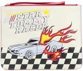 Tommy Hilfiger star racer clutch