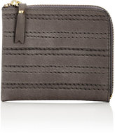 Comme des Garcons Men's Channel-Stitched Zip Pouch-GREY