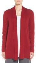 Eileen Fisher Women's Tencel & Organic Cotton Blend Cardigan