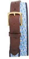 Vineyard Vines Men's Tequila & Lime Belt