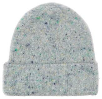Acne Studios Peele Ribbed Wool-blend Beanie Hat - Green