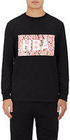 Hood by Air Men's Cotton Long-Sleeve Graphic T-Shirt-BLACK