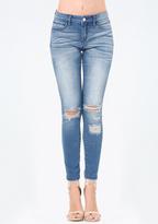 Bebe Yasmin Heartbreaker Jeans