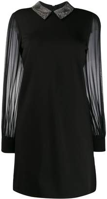 John Richmond embellished collar shift dress