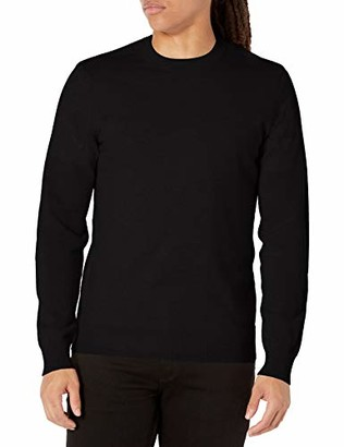 Theory Mens Solid Cashmere Hilles Crew X
