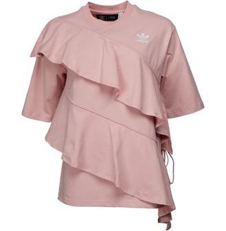 adidas Womens X J KOO T-Shirt Pink Spirit
