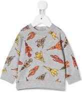 Stella McCartney rocket print sweatshirt