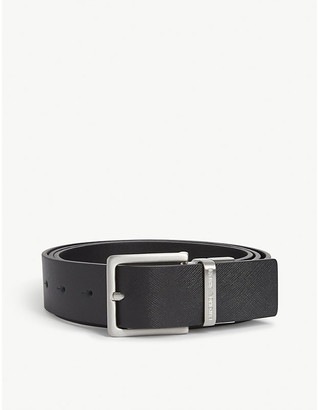 Emporio Armani Reversible leather belt gift box