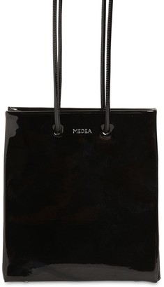 Medea Vinyl Bag W/ Long Shoulder Strap