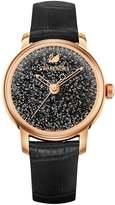Swarovski Crystalline Hours Watch Black 5295377