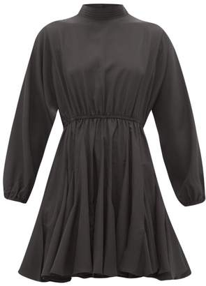 Rhode Resort Caroline Crepe Dress - Womens - Black