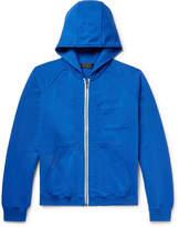 Haider Ackermann - Loopback Cotton-jersey Zip-up Hoodie