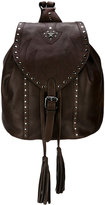 Just Cavalli fringe detail backpack - women - Calf Leather - One Size