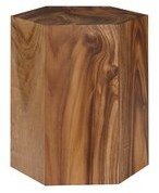 Phillips Collection Solid Wood Block End Table