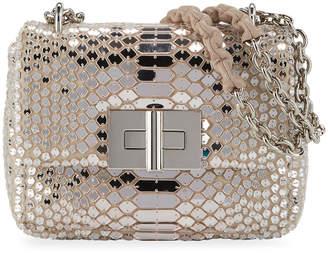 Tom Ford Natalia Small Soft Mirror Mosaic Shoulder Bag