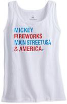 Disney Mickey Mouse Icon Americana Tank Top for Women