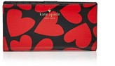 Kate Spade Stacy Be Mine Patent Saffiano Leather Wallet