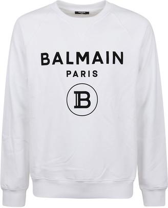 Balmain Flock Sweatshirt