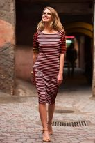 Shabby Apple Besseha Striped Pencil Skirt