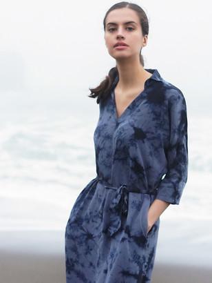 Sourcery Label Byron Silk Shirt Dress