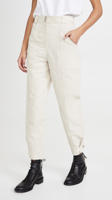 Rebecca Taylor Textured Cotton Pants