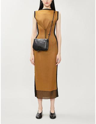 KEPLER Ruched knitted dress