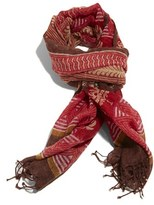 'Manisha' Print Wool Scarf