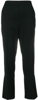Dorothee Schumacher Cropped Flared Trousers