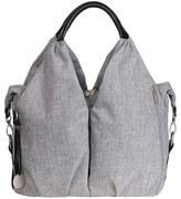 Lassig Infant 'Green Label - Neckline' Diaper Bag - Grey