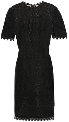 Erdem Paneled Guipure Lace And Ponte Mini Dress
