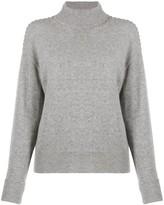 Theory Whipstitch Turtleneck Sweater