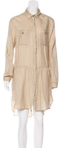 Dolce & Gabbana Button-Up Casual Dress