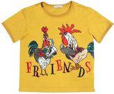 Dolce & Gabbana Rooster Cotton Jersey T-Shirt