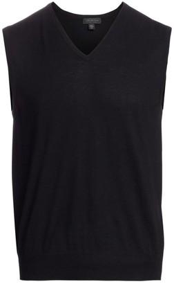 Saks Fifth Avenue COLLECTION Cashmere V-Neck Sweater Vest