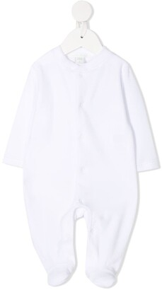 Marie Chantal Angel Wings contrasting button pajama