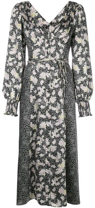 Cinq à Sept Jessica long-sleeve dress