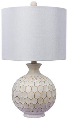 Fangio Lighting W-6225 Table Lamp, Antique Ivory