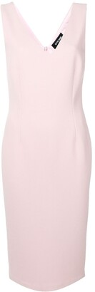 Styland Fitted Midi Dress