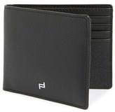 Porsche Design Men's 'Fc 3.0'' Leather Bifold Wallet - Black