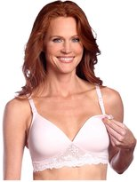 Leading Lady Nursing Bra - Wirefree & Molded - Pink-36C