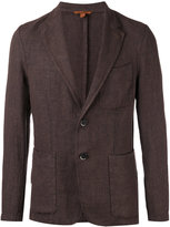 Barena two button blazer - men - Linen/Flax - 52